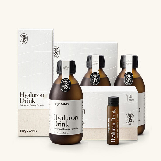 Buy the New Proceanis Hyaluron Drink at the Health & Beauty Group